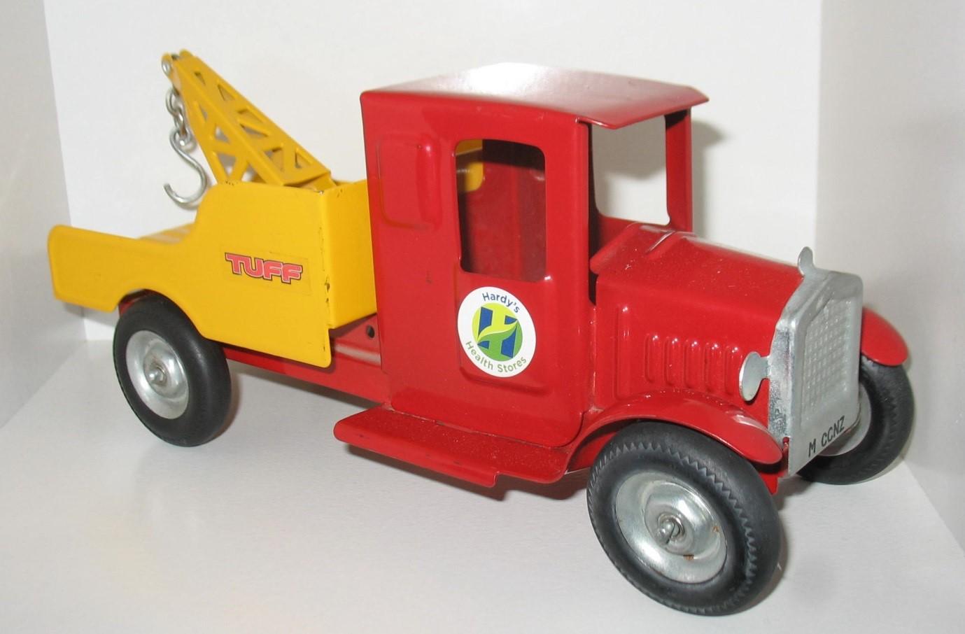 Red Breakdown Truck